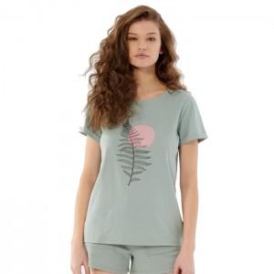 Koszulka damska HOL21-TSD610D 48S OUTHORN