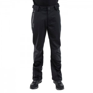 Spodnie trekkingowe softshell męskie HOLLOWAY DLX TRESPASS Black