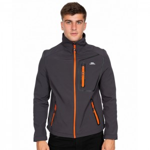 Kurtka softshell męska HOTHAM TP50 TRESPASS Dark Grey