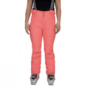 Spodnie narciarskie damskie JACINTA DLX TRESPASS Neon Coral