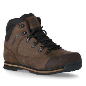 Buty trekkingowe wysokie męskie JERICHO TRESPASS Dark Brown