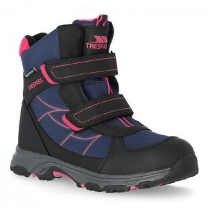 Buty trekkingowe wysokie dziecięce JULIEN TRESPASS Navy