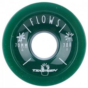 Kółka do longboardu (4 szt.) FLOWS 70x51mm 78A TEMPISH Green
