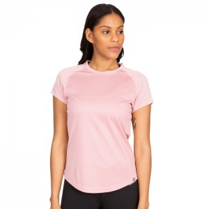 Koszulka treningowa damska MADDISON TP75 TRESPASS Lilac Haze Stripe