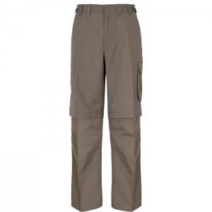 Spodnie trekkingowe zip-off męskie MALLIK TP75 TRESPASS Bark