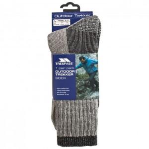 Skarpety trekkingowe męskie Merino STROLLER TRESPASS Grey Marl