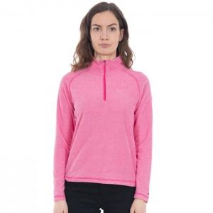 Polar damski 1/2 zip MEADOWS TRESPASS Pink Lady