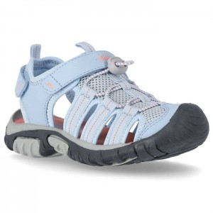 Sandały zabudowane dziecięce NANTUCKET TRESPASS Light Blue