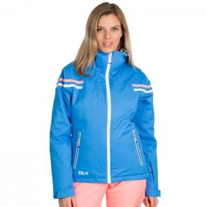 Kurtka narciarska damska NATASHA DLX TRESPASS Vibrant Blue