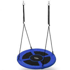 Huśtawka bocianie gniazdo NB5031 100cm NILS CAMP Blue