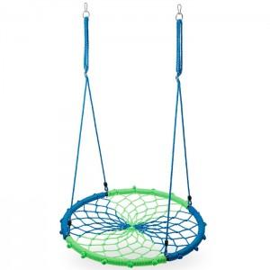Huśtawka bocianie gniazdo NB5039 100cm NILS CAMP Blue-Green