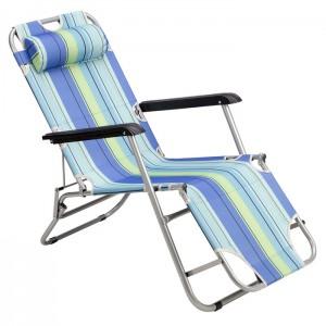 Leżak plażowy składany NC3024 NILS CAMP