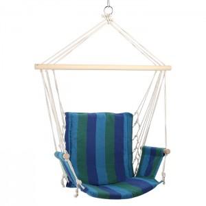 Krzesło brazylijskie hamak NC3102 NILS CAMP Blue
