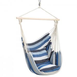 Krzesło brazylijskie hamak NC3107 NILS CAMP Blue