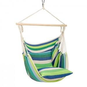 Krzesło brazylijskie hamak NC3107 NILS CAMP Green