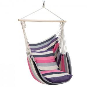 Krzesło brazylijskie hamak NC3107 NILS CAMP Pink