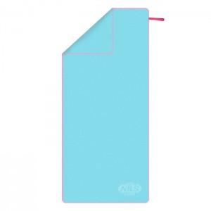 Ręcznik szybkoschnący z mikrofibry NCR13 200x90cm NILS CAMP Jasny Niebieski