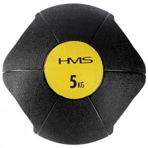 Piłka lekarska z uchwytami 5kg NKU05 HMS