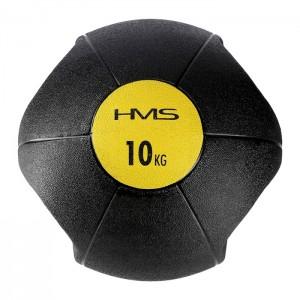 Piłka lekarska z uchwytami 10kg NKU10 HMS