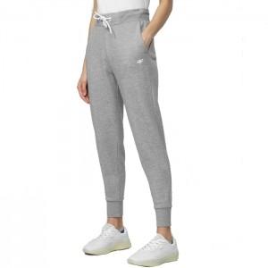 Spodnie dresowe damskie NOSH4-SPDD001 27M 4F