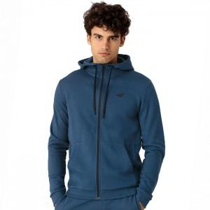 Bluza z kapturem męska NOSH4-BLM353 32S 4F