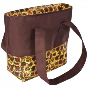Torba miejska piknikowa PACK TRESPASS Sunflower Print