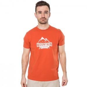 Koszulka techniczna męska PEAKED TP75 TRESPASS Burnt Orange