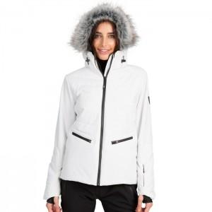 Kurtka narciarska damska POISE TP75 TRESPASS White