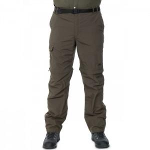 Spodnie trekkingowe zip-off męskie z odpinanymi nogawkami RYNNE TRESPASS Olive