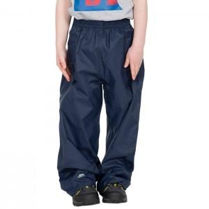 Spodnie przeciwdeszczowe dziecięce QIKPAC PANT KIDS TP75 TRESPASS Navy