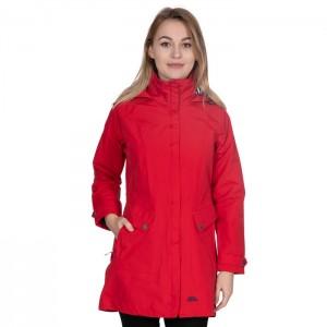 Płaszcz przeciwdeszczowy damski RAINY DAY TP75 TRESPASS Red
