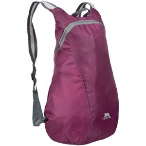 Plecak miejski pakowany 15L REVERSE TRESPASS Purple