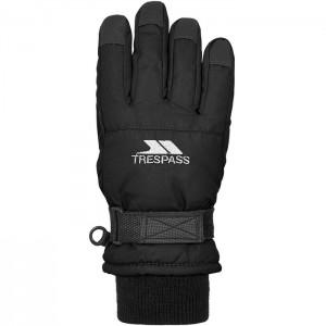 Rękawice narciarskie zimowe dziecięce RURI II TRESPASS Black