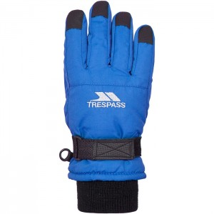Rękawice narciarskie zimowe dziecięce RURI II TP50 TRESPASS Blue