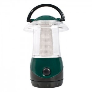 LAMPA KEMPINGOWA LED EMBERS DARK GREEN TRESPASS