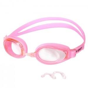 Okulary pływackie dla seniorów F-1500 AF SPURT Różowy