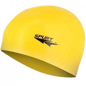 Czepek pływacki silikonowy G-TYPE JUNIOR F201 SPURT Żółty