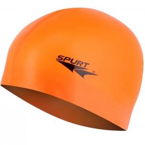Czepek pływacki silikonowy G-TYPE JUNIOR F202 SPURT Pomarańczowy
