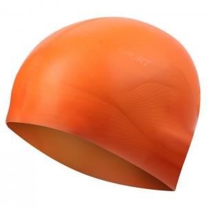 Czepek pływacki silikonowy G-TYPE MEN F202 SPURT Pomarańczowy