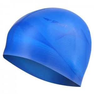 Czepek pływacki silikonowy G-TYPE MEN F206 SPURT Niebieski