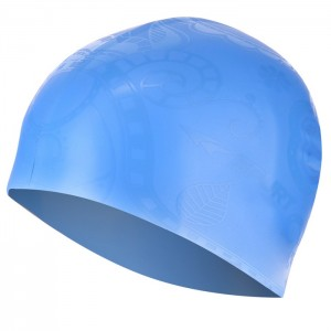 Czepek pływacki silikonowy G-TYPE WOMAN F224 SPURT Niebieski