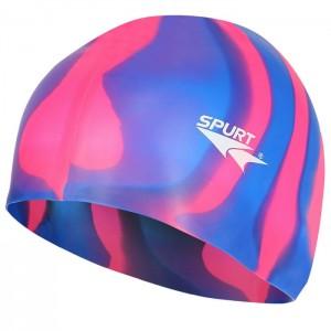 Czepek pływacki silikonowy MI7 SPURT Zebra