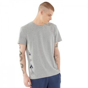 Koszulka męska HOL21-TSM634 26M OUTHORN