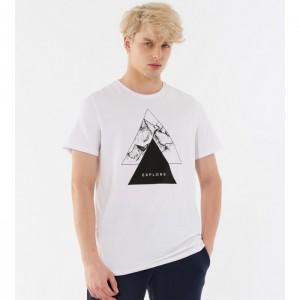 Koszulka męska HOL21-TSM636 10S OUTHORN