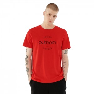 Koszulka męska HOL21-TSM600A 62S OUTHORN
