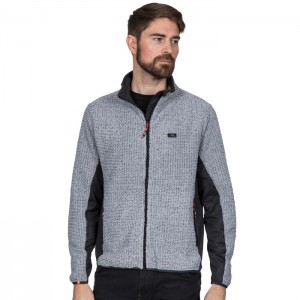 Polar męski full-zip TEMPLETONPECK TRESPASS Platinum