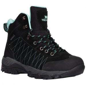 Buty trekkingowe wysokie damskie TORRI TRESPASS Black