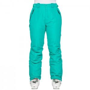 Spodnie narciarskie damskie TULLOW TP50 TRESPASS Ocean Green