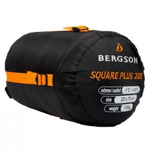 Śpiwór syntetyczny kołdra 3-sezony SQUARE PLUS 200 BERGSON Navy