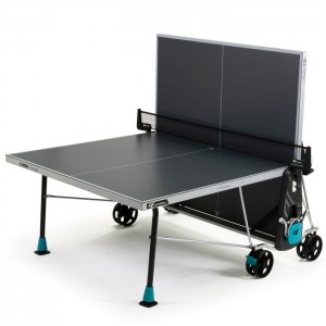 Stół tenisowy do ping ponga 300X DELTA OUTDOOR CORNILLEAU Szary